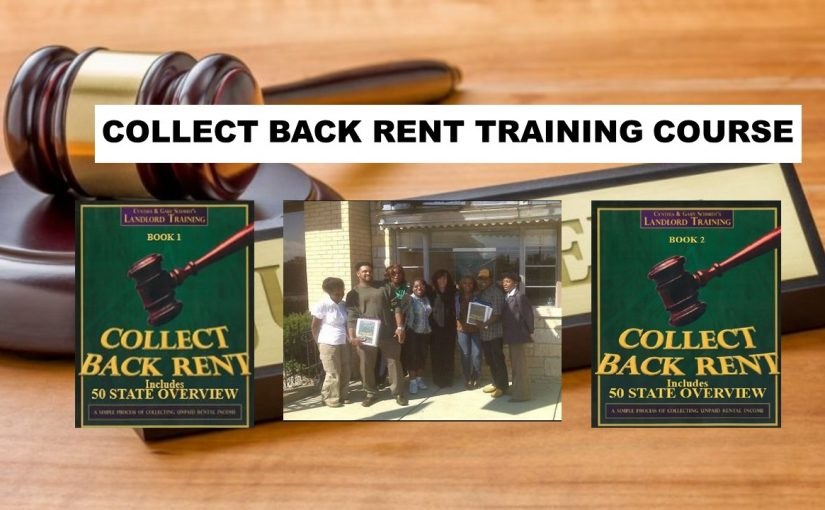 Collect Back Rent Training Course For Landlords   Evictions, Small